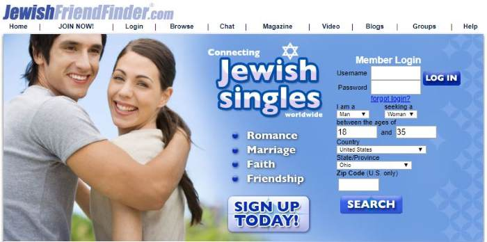 best dating site for jewish seniors