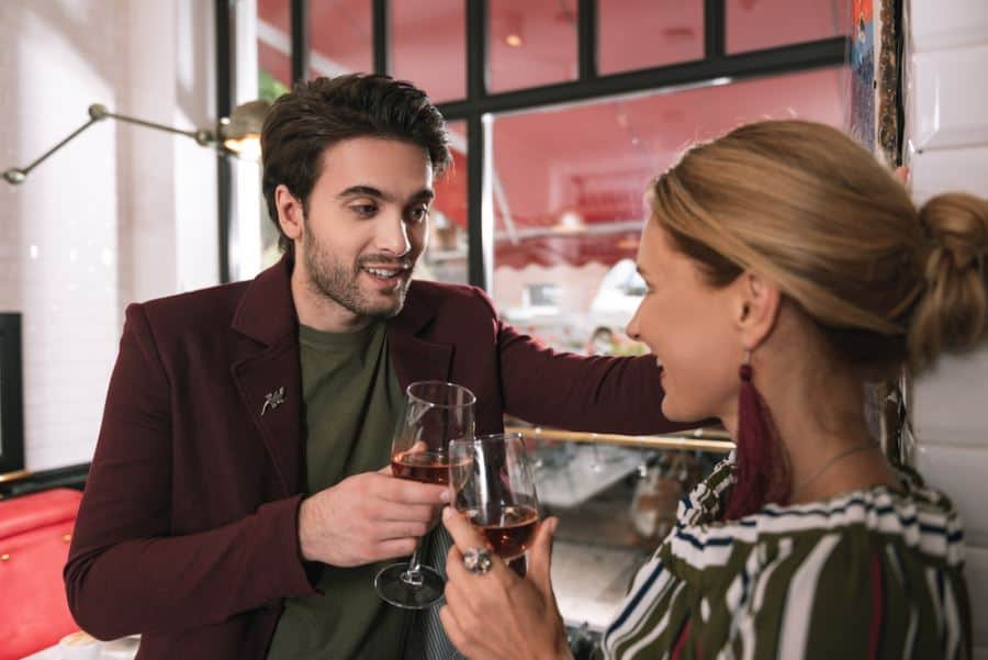 courting in the course of divorce